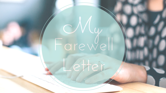 Farewell letter of a life coach - Do What You Love